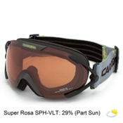 Carrera Dahlia Womens Goggles, Black Mat Marks-Super Rosa Sph Polarized, medium