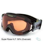 Carrera Dahlia Womens Goggles, Black Mat Marks-Super Rosa Sph, medium