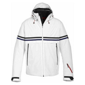 Bogner Fire + Ice Egan Mens Insulated Ski Jacket, Off White, medium