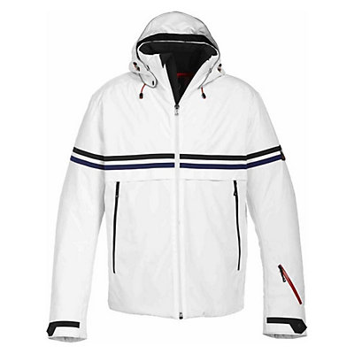 Bogner Fire + Ice Egan Mens Insulated Ski Jacket, Off White, viewer