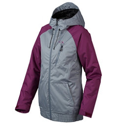 Oakley Code Womens Insulated Snowboard Jacket, Flint Stone, 256