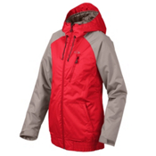 Oakley Code Womens Insulated Snowboard Jacket, Red Line, medium
