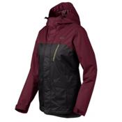 Oakley Kilo Womens Insulated Snowboard Jacket, Jet Black, medium