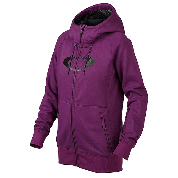 Oakley Hotel Ellipse Womens Hoodie, Helio Purple, 600