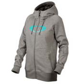 Oakley Hotel Ellipse Womens Hoodie, Heather Grey, medium