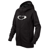 Oakley Hotel Ellipse Womens Hoodie, Jet Black, medium