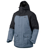 Oakley B52 Down Mens Insulated Snowboard Jacket, Jet Black, medium