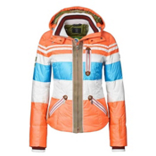 Bogner Dalila D Womens Insulated Ski Jacket, Screaming Orange, medium