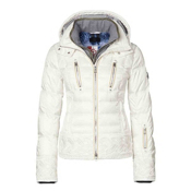 Bogner Dia D Womens Insulated Ski Jacket, Off White, medium