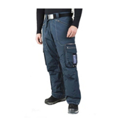 Bogner Arvin Long Mens Ski Pants, Dark Blue, medium