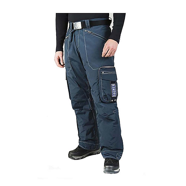 Bogner Arvin Long Mens Ski Pants, Dark Blue, 600