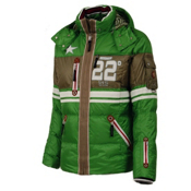 Bogner Randy D Mens Insulated Ski Jacket, Fresh Green, medium