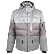 Bogner Len D Mens Insulated Ski Jacket, Grey, medium
