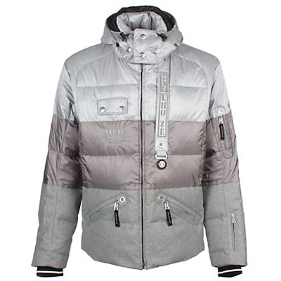 Bogner Len D Mens Insulated Ski Jacket, Grey, viewer