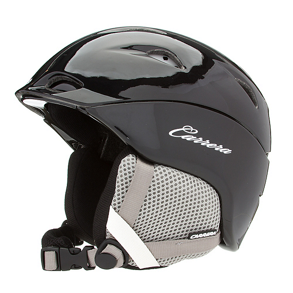 Carrera Solace Womens Helmet, Black Shiny, 600