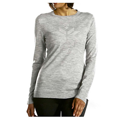Meister Kate Womens Sweater, Charcoal Heather, viewer