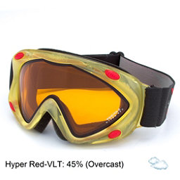 Carrera Kimerik S Kids Goggles, White Racing Sl-Hyper Red Dbl, 256