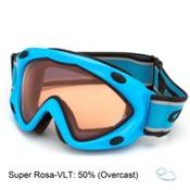 Carrera Kimerik Kids Goggles, Light Blue-Super Rosa, medium