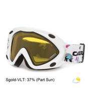 Carrera Kimerik Kids Goggles, White Snow-Sgold, medium