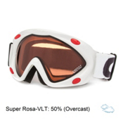 Carrera Kimerik S Kids Goggles, White Stripes-Super Rosa, medium
