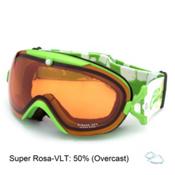 Carrera Mirage SPH Womens Goggles, Green Matte Flow Green-Super Rosa Sph, medium