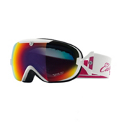 Carrera Mirage SPH Womens Goggles, Wh Line Fucsia M-Red Spectra S, medium