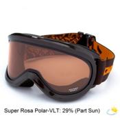 Carrera Skermo OTG Goggles, Choco Orange Mat-Super Rosa Polarized, medium