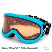 Carrera Skermo OTG Goggles, Light Blue Shiny-Super Rosa, medium