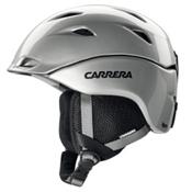 Carrera Apex Helmet, Silver Shiny, medium