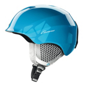 Carrera C-Lady Womens Helmet, Light Blue Shiny, medium