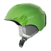 Carrera C-Lady Womens Helmet, Green Matte Flower, medium