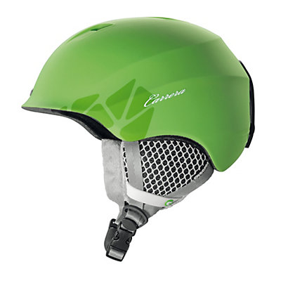 Carrera C-Lady Womens Helmet, Green Matte Flower, viewer