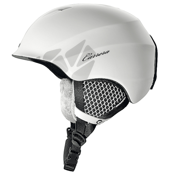 Carrera C-Lady Womens Helmet, White Matte, 600