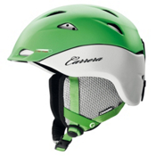 Carrera Mystic Womens Helmet, Green Wht Matte, medium