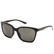 Smith Colette Polar Womens Sunglasses, Black-Polar Gray Green, medium