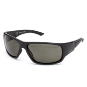 Smith Discord Polar Sunglasses, Matte Black-Polar Gray Green, medium