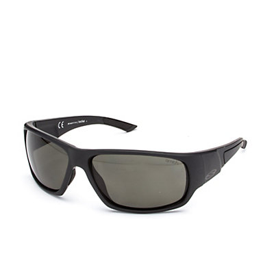 Smith Discord Polar Sunglasses, Matte Black-Polar Gray Green, viewer