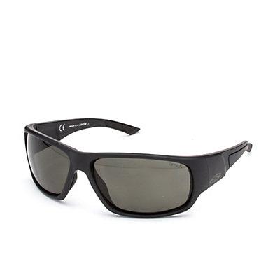 Smith Discord Polar Sunglasses, Matte Black-Polar Gray Green, viewer