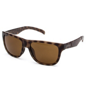 Smith Lowdown Slim Polarized Sunglasses, Tortoise-Polarized Brown, medium