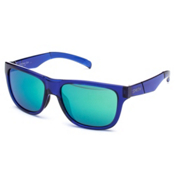 Smith Lowdown Slim Sunglasses, Crystal Blue-Green Sol X Carbonic, medium
