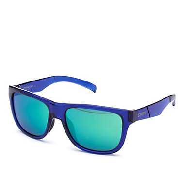 Smith Lowdown Slim Sunglasses, Crystal Blue-Green Sol X Carbonic, viewer