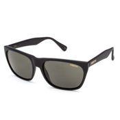 Smith Tioga Polarized Sunglasses, Matte Black-Polar Gray Green, medium