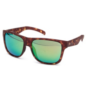 Smith Lowdown XL Sunglasses, Matte Yellow Tortoise-Green Sol X, medium