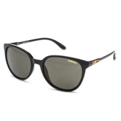 Smith Cheetah Polar Womens Sunglasses, Black-Polar Gray Green, medium
