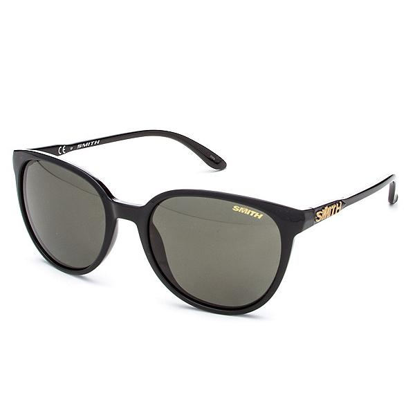 Smith Cheetah Polar Womens Sunglasses, Black-Polar Gray Green, 600