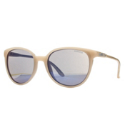 Smith Cheetah Womens Sunglasses, Nude-Blue Flash Mirror, medium