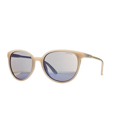 Smith Cheetah Womens Sunglasses, Nude-Blue Flash Mirror, viewer