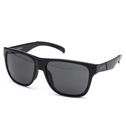 Smith Lowdown Polarized Sunglasses, Black-Polarized Gray, 256