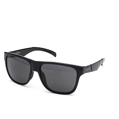 Smith Lowdown Polarized Sunglasses, Black-Polarized Gray, viewer