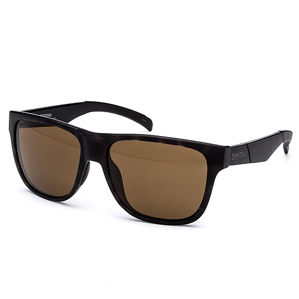 Smith Lowdown Polarized Sunglasses, Matte Tortoise-Polarized Brown, 600